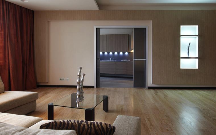 Квартира. гостиная из проекта , фото №5665