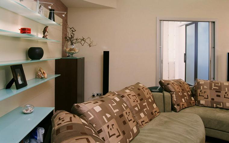 Фото № 5680 гостиная  Квартира