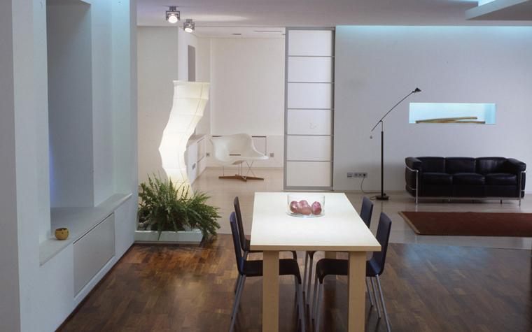 Квартира. столовая из проекта , фото №6070