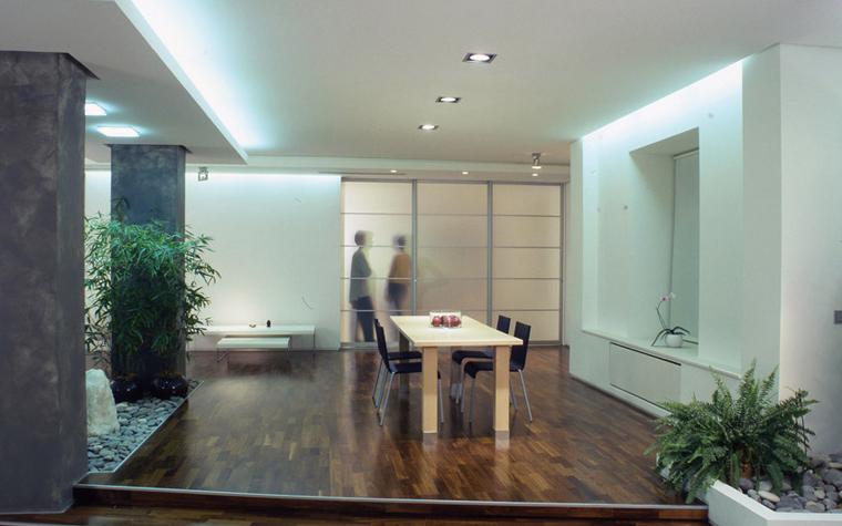 Квартира. столовая из проекта , фото №6071