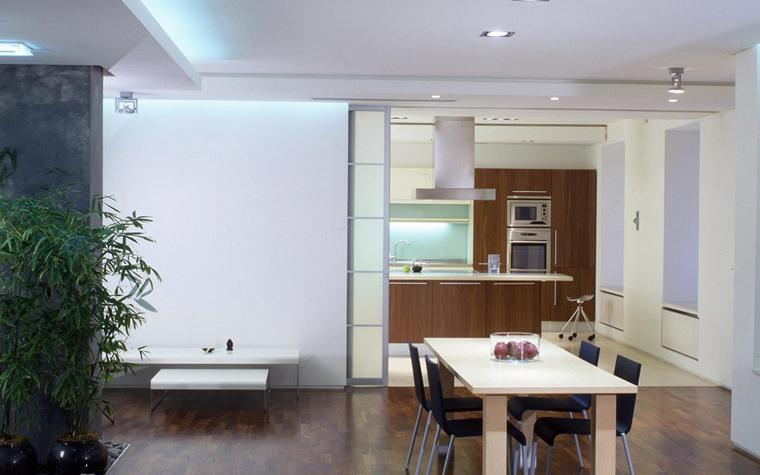 Квартира. столовая из проекта , фото №6072