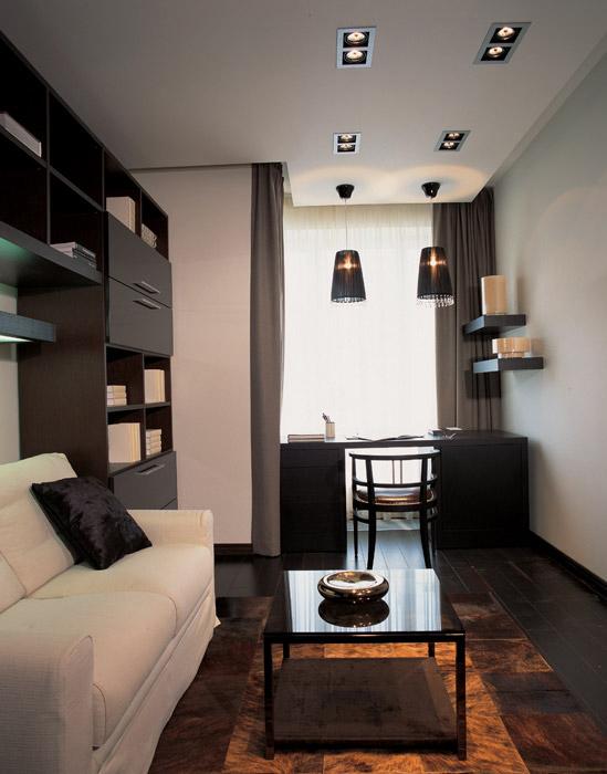 Квартира. кабинет из проекта , фото №6075
