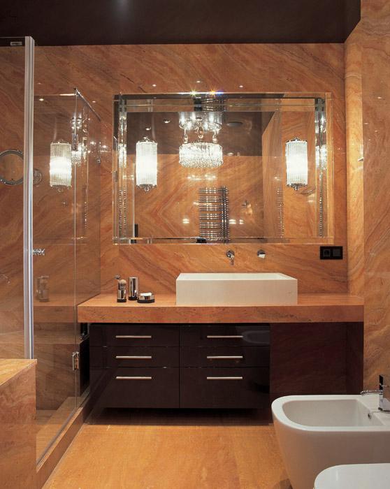 Квартира. ванная из проекта , фото №6077