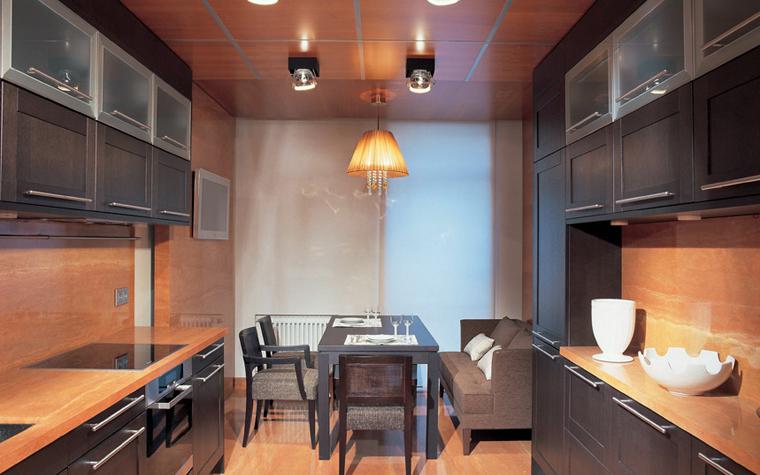 Квартира. кухня из проекта , фото №6079