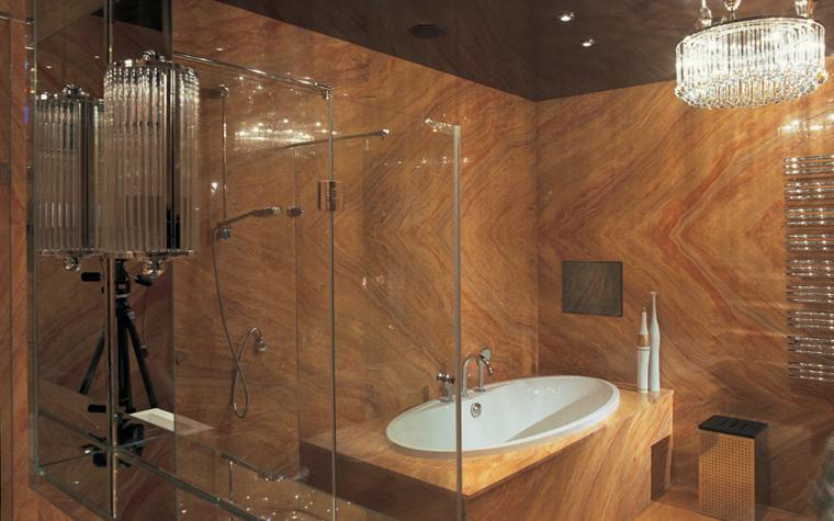Квартира. ванная из проекта , фото №6078