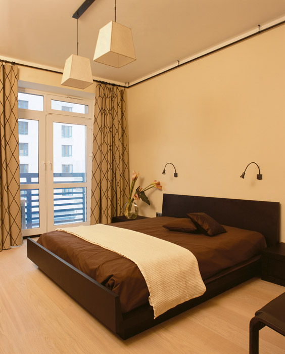 Квартира. спальня из проекта , фото №6893