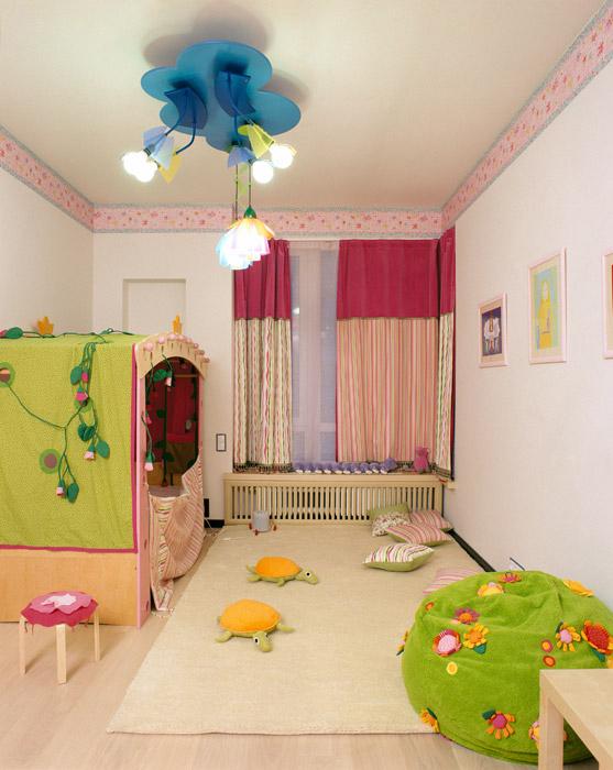 интерьер детской - фото № 6895