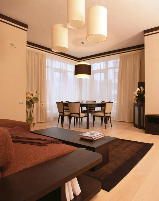 Квартира. столовая из проекта , фото №6907