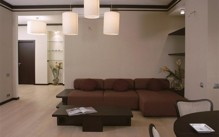 Квартира. гостиная из проекта , фото №6902