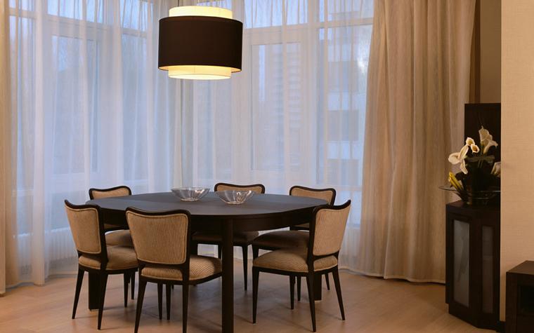 Квартира. столовая из проекта , фото №6905