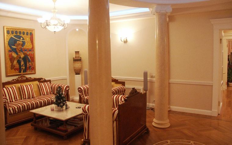 Квартира. гостиная из проекта , фото №6233