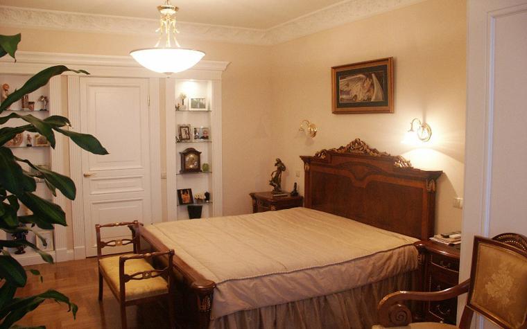 Квартира. спальня из проекта , фото №6237