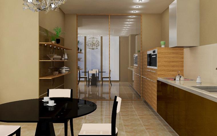 Квартира. кухня из проекта , фото №6245