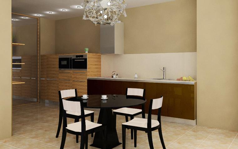 Квартира. кухня из проекта , фото №6246