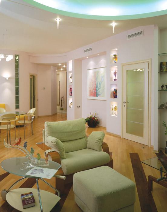 интерьер гостиной - фото № 6273