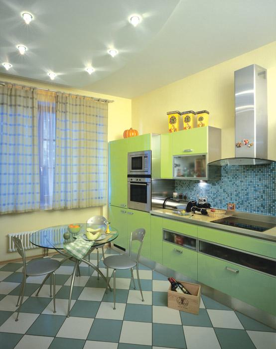 Квартира. кухня из проекта , фото №6275