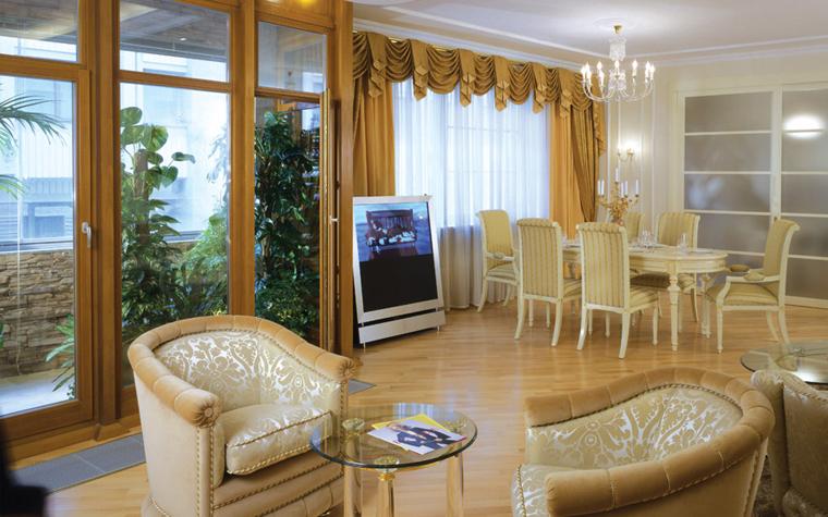 Квартира. гостиная из проекта , фото №6280