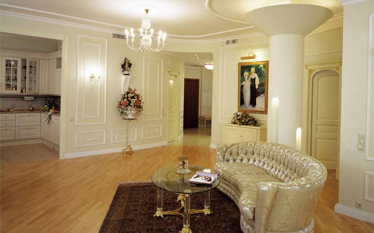 Квартира. гостиная из проекта , фото №6282