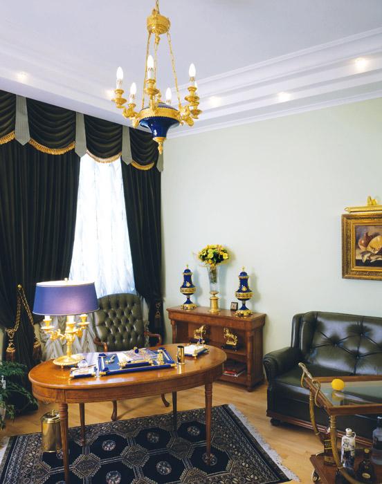 интерьер кабинета - фото № 6291