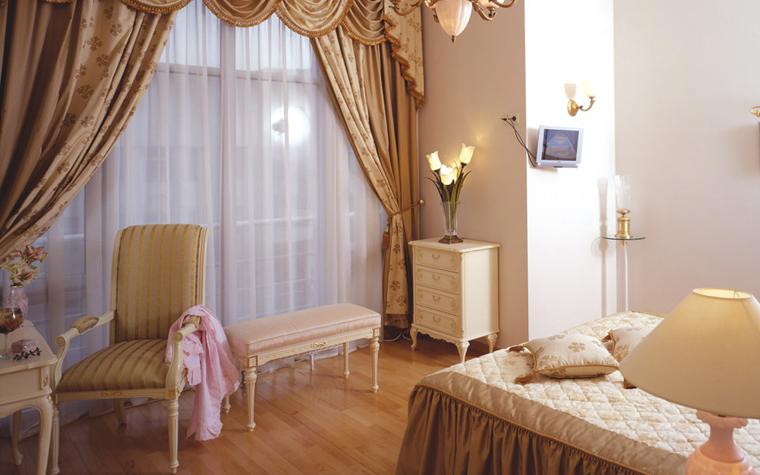 Квартира. спальня из проекта , фото №6286
