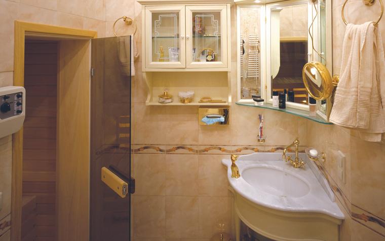 Квартира. ванная из проекта , фото №6290