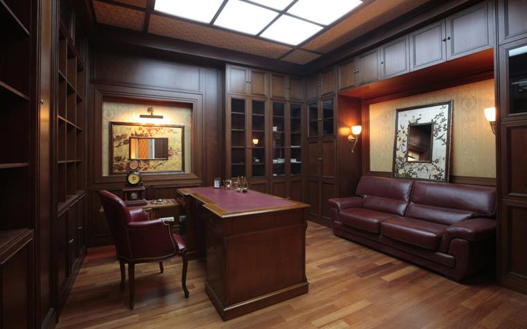 Фото № 6537 кабинет библиотека  Квартира