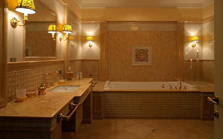 интерьер ванной - фото № 6556