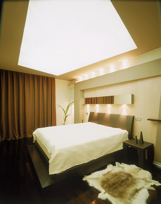 интерьер спальни - фото № 6610