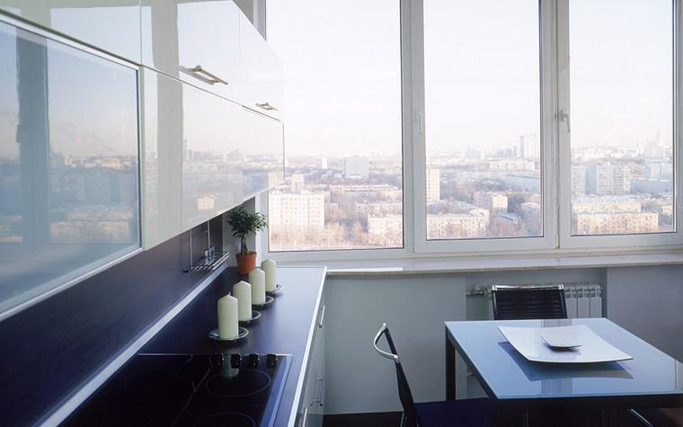 Квартира. кухня из проекта , фото №6612