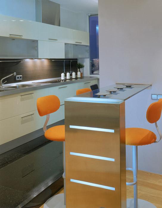 Квартира. кухня из проекта , фото №6613