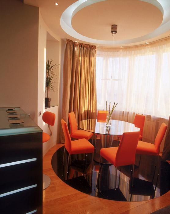Квартира. столовая из проекта , фото №6615