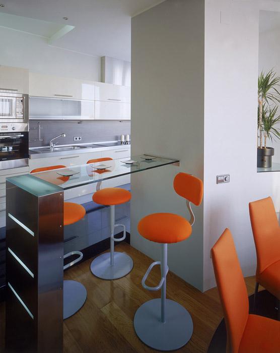 Квартира. кухня из проекта , фото №6614