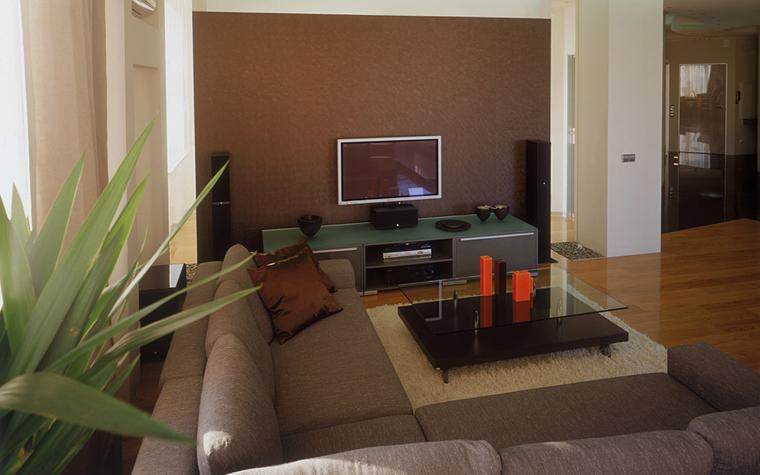 интерьер гостиной - фото № 6618