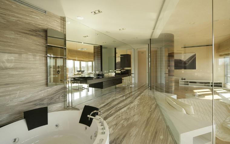 Квартира. ванная из проекта , фото №6807