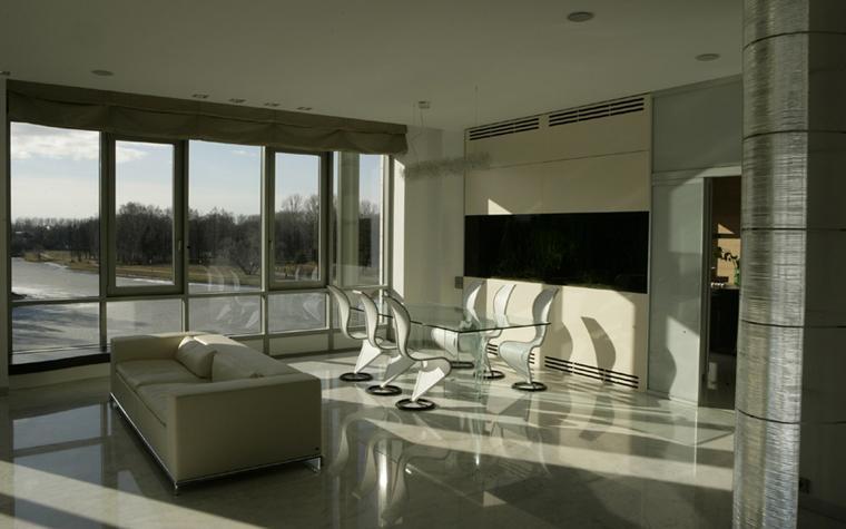 Квартира. столовая из проекта , фото №6803