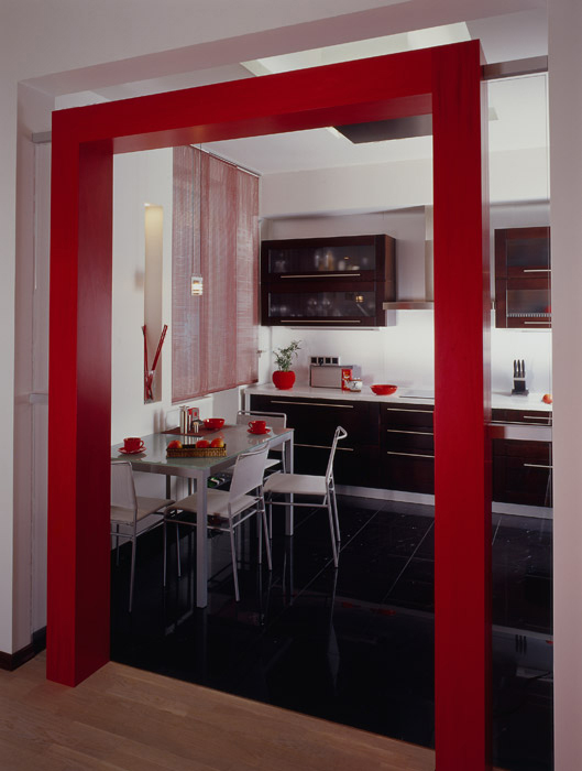 Квартира. кухня из проекта , фото №6837