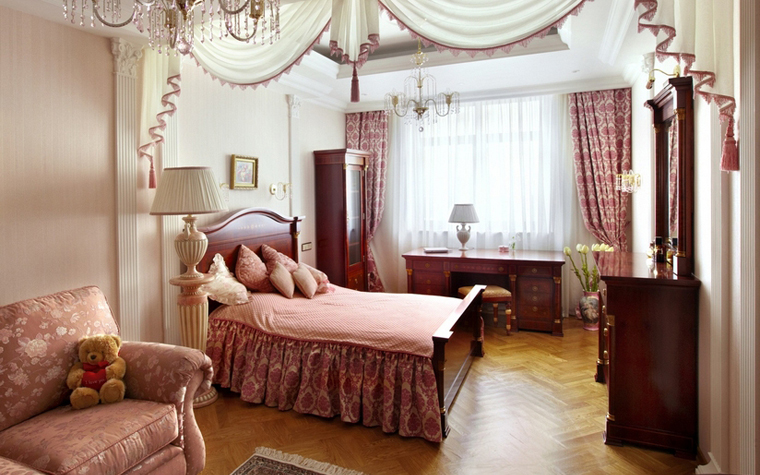 интерьер спальни - фото № 7122