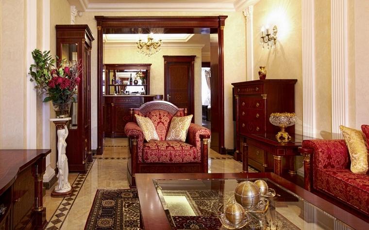 интерьер гостиной - фото № 7127