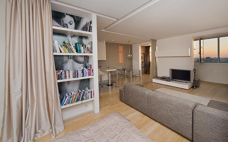 интерьер гостиной - фото № 7795