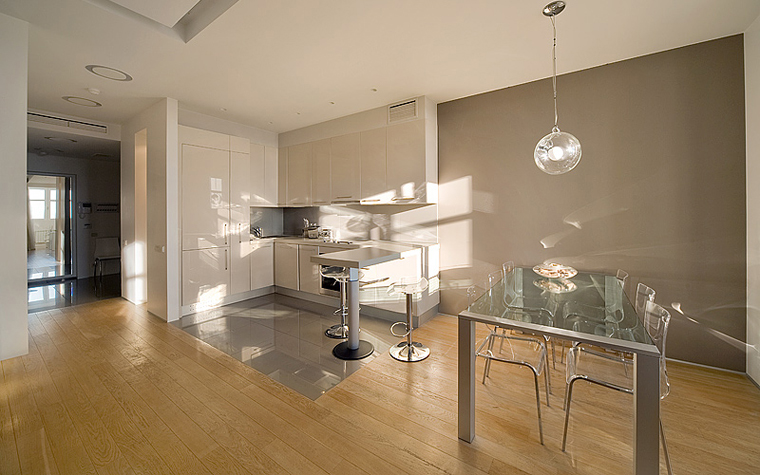 Квартира. кухня из проекта , фото №7223