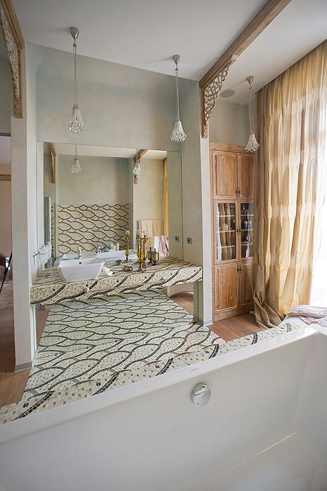 Квартира. ванная из проекта , фото №7228