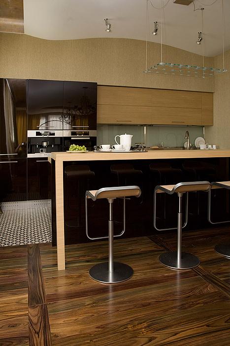 Квартира. кухня из проекта , фото №7239