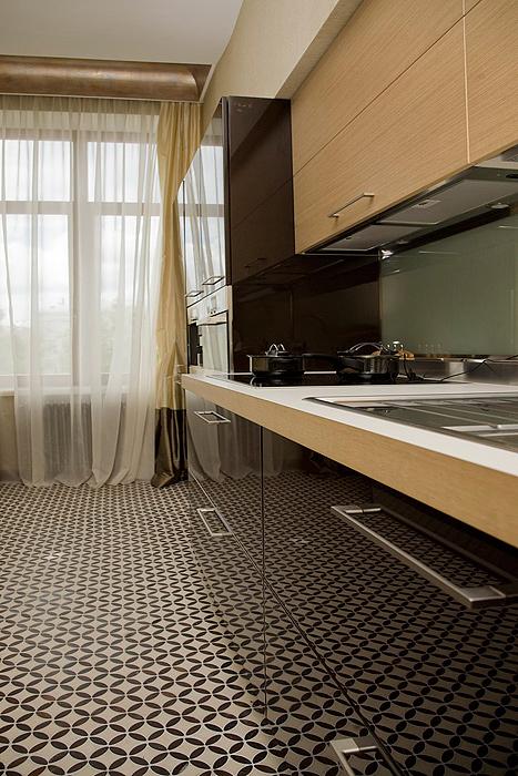 Квартира. кухня из проекта , фото №7240