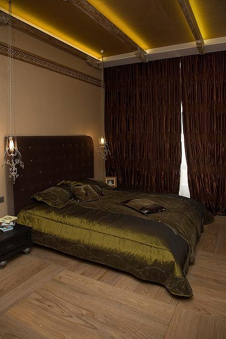интерьер спальни - фото № 7243