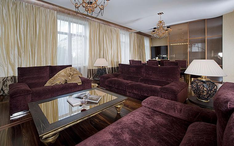 Квартира. гостиная из проекта , фото №7230