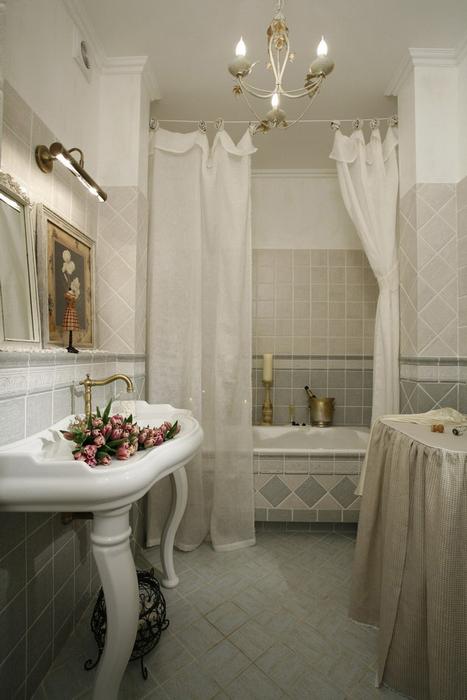 Квартира. ванная из проекта , фото №7250