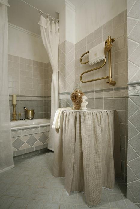 Квартира. ванная из проекта , фото №7251