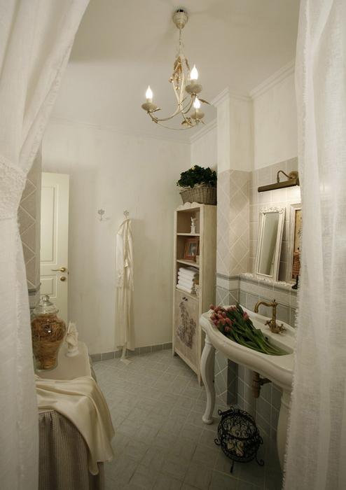 Квартира. ванная из проекта , фото №7254