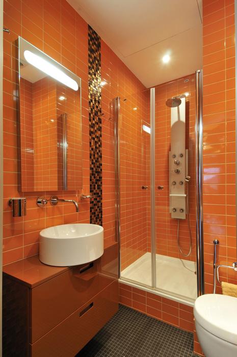 Квартира. ванная из проекта , фото №7450
