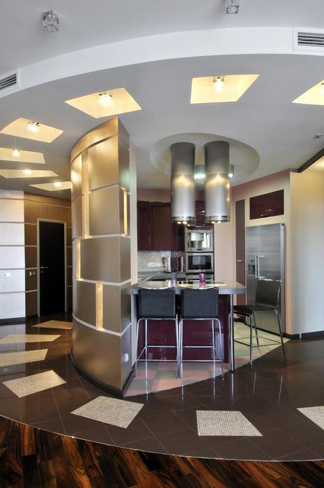 Квартира. кухня из проекта , фото №7455